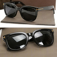 eyeglasses box - Brand TF211 TOM acetate eyewear FOR sun glasses men and women big black polarized eyeglasses sunglasses with origianal box