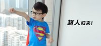 Hot Ceia Mans Rapazes Roupa de manga curta T-shirt macio BatMan Personagem Melhores Camisetas infantis roupas infantis Outwears Suits