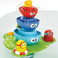 bath safety products - 40 cm baby bath toy for baby take bath playing water fountain toys safety and hurtless baby products supply
