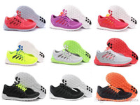 Wholesale 9 Colors New Style High Quality Free Run Womens Athletic Running Shoes Roshe Run Size Dropship