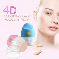 auto artists - Electric Powder Cosmetic Puff D BB Cream Tilting Vibrating Foundation Applicator Artist Auto Pat For Lovely Girl