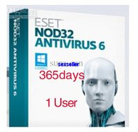 Cheap Brand NEW ESET nod32 antivirus new anti-virus eset nod32 smart security software activation code nod32 180day 1 user Account
