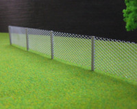 chain link fence - LG8705 Meter Model mesh fencing chain link HO Scale new