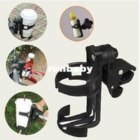 Cheap free shipping cup holder for Baby stroller bottle rack trolley child car bicycle quick release water bottle holder glass rack