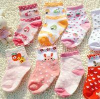 non slip socks - 10pairs baby non slip socks warm kids ankle socks cute footwear anti slip foot socks