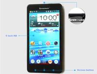 Original Lenovo P780 MTK6589 Quad Core Android4.2 teléfono celular 1G RAM 4G ROM con 5,0 pulgadas IPS pantalla 8.0MP cámara celular smart phone