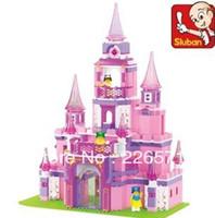 Wholesale Enlighten Child M38 B0151 Education Dream Castle Compatible With Lego Assembles Particles Block Toys