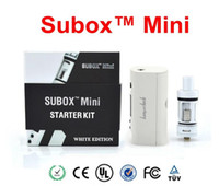 Wholesale Kanger Subox Mini Starter Kit with Subtank Mini V2 sub ohm atomizers KBOX Mini W W battery VS Kanger Subox Nano kit