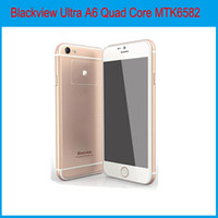 Wholesale Blackview Ultra A6 Quad Core MTK6582 GHz GB RAM GB ROM Android4 inch G WCDMA MP Camera SmartPhone