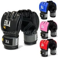 Wholesale hot sales boxing boxing gloves MMA gloves MMA half fighting fighting Boxing Gloves Competition Boxing Training high quality