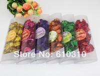 Wholesale mix color flower design natural dried flower sachet for home decoration Potpourri Packs