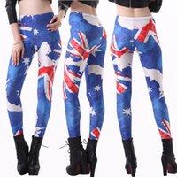 Cheap Australia Flag Leggings Best Wholesale Punk Leggings