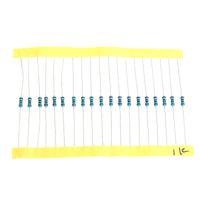 Wholesale 1280pcs Values ohm M ohm W Metal Film Resistors Assortment Kit Set