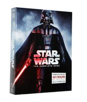 Wholesale 2016 Factory Direct Star Wars Complete Saga discs blu ray Episodes I VI Player with Retail Box