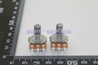 Wholesale B5K K Linear Taper Rotary Potentiometer Pots Shaft mm