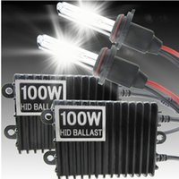 100w hid - 12V W Xenon Light Conversion HID Kit K HID Xenon Headlight Conversion Kit single beam H1 H3 H4 H7 H8 H9 H10 H11