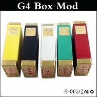 diablo - G4 Box Mod Clone Dual Power Vape Mod G4 mechanical mod adjustable Pin fit subtank atlanits vs ABS el diablo box mods
