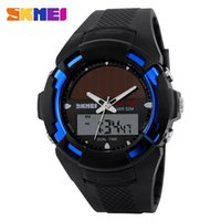 best solar watches for men - Cool Digital Watches For Men Skmei Dual Display Pointer Solar Time Student Table Fashionable Men S Sports Watch Waterproof Watch Best Friend
