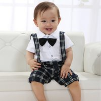 baby boy christening outfits - Zehui Style Baby Boy Wedding Bow tie Occasion Christening Tuxedo Suit Outfit Vest Clothes Set Age Y