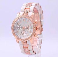 designer watches men - Luxury Quartz Watch for Men Brand Watches Designer Women Wristwatch Rhinestone Round Watch High Quality Stainless Steel Watches with Box