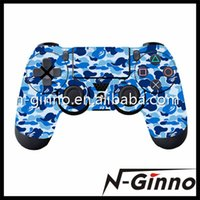 Cheap Free Shipping 100 Pieces Lot Camo Design For Sony PlayStation 4 PS4 Controller Decal Sticker Skin