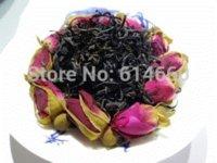 Cheap Tea | Black Tea 250G Organic Rose Flower Tea,Black tea,Keemun black teaSecret Gift+Free shipping tea tree oil pure