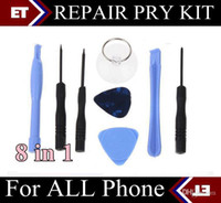Wholesale DHL X in REPAIR PRY KIT OPENING TOOLS TOOL FOR cell for APPLE IPHONE iphone s samsung i9500