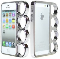 brass knuckles rings - Lord Of The Rings brass knuckles hard bumper cover case for iPhone S Silver