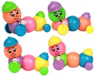best caterpillar - Cute Caterpillar Wind Up Toys Plastic Toys for Chilren best Gifts CM Set
