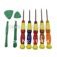 Wholesale Torx T2 T3 T4 T5 T6 Cell Phone Repair Kit Tool Set Magnetic Screwdrivers Tools