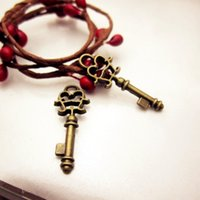 bag jewelry hardware - Factory direct sales Hardware Accessories of Jewelry Ancient Bronze Alloy Key Pendant bag