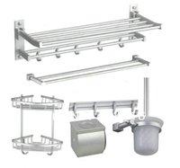bath suites - 6 aluminum space suit bathroom suite bathroom suite bath towel racks hanging hook