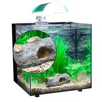 Wholesale New Aquarium Fish Tank Resin Ornament Cave Landscaping Furnishing Decor Fish Tank Hollow Tree Decorations