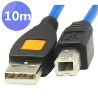 Wholesale 30pcs High speed meters FT USB Printer Cable Type A Male to Type B Male M M A B Cord Blue by Fedex