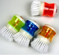 adding toilet - Add liquid washing brush Cleaning brush Kitchen brush
