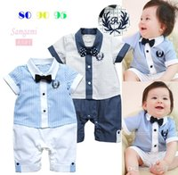 Wholesale Toddler Rompers New Boy Rompers Baby One Piece Romper Boys One Piece Clothing Baby Rompers Kids Romper Jumpsuit Rompers Children Clothes