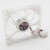 Wholesale 120mm LED Blue Fans Case Cooling for all Computer PC Appliances