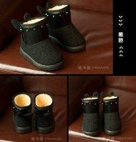 mauri shoes - Cartoon years baby warm boots true mauri color short girl winter boots style children balance leisure shoe pair B1