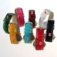 Wholesale Flower Wrist Watch Flower Watch Leather Band Rose Flower Watch Women fashion Watch Dress Quartz Watches Top Quality Churchill