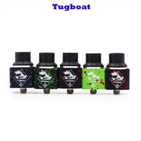 Wholesale Newest Tugboat RDA Mod Atomizer Rebuildable Tugboat mm Thread for Electronic Cigarettes