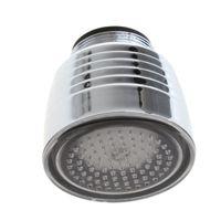 Wholesale LD8001 A10 Glow Water Stream LED Faucet Temperature Sensor Light Tap Color torneiras grifos para lavabos
