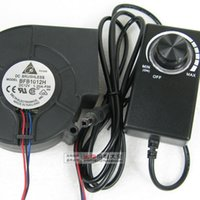 aluminum case feet - Fan speed adjustable power supply V LED power adapter thermostat light foot A
