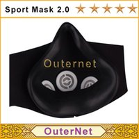 boxing equipment - Hot Mask S M L Size M Boxing High Altitude Men Fitness Supplies Sport Mask Outdoor Fitness Equipment Outernet