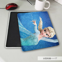 Wholesale 2015 Hot Cartoon Frozen princess mouse pad mouse mat free ship