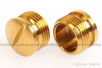 Wholesale ROCKBROS Titanium Ti Pedal Spindle End Cap hat Crank Beater pair Colors