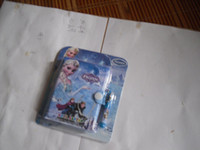 Wholesale Snow Romance Aisha Anna plastic holster notebook notebook with pen suit FROZEN plastic holster notebook with pen