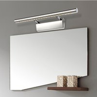 7W bathroom cabinets with lights - Free shpping W High Quality Led mirror light bathroom mirror cabinet lamp with switch