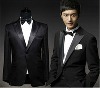 Wholesale 2015 Men s suits Jacket Pants Shirt Girdle Bow Bridegroom wedding suits groom suits terno masculino