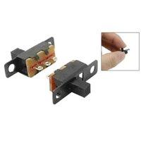 Wholesale FS Hot Solder Lug Pin ON OFF ON Position Panel Mount Slide Switch order lt no track
