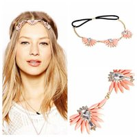 asos red - FD042 and ASOS Bohemia foreign trade selling flowers with acrylic gems